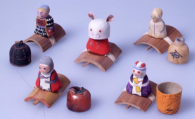 作品画像:ミニチュア玩具 とんだりはねたり 釣鐘