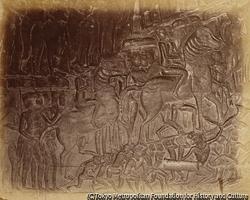 作品画像:凱旋行進の浅浮彫り