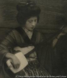 作品画像:掛小屋の女