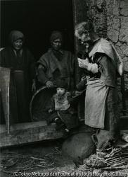 作品画像:貧農一家、東北地方の大凶作