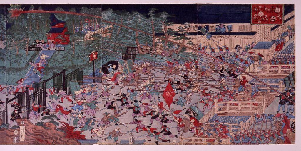 作品画像:東台大戦争図