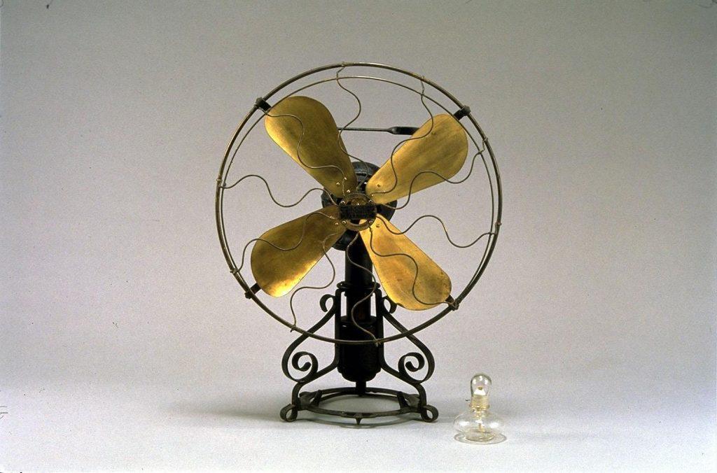 作品画像:アルコール式扇風機