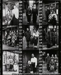 作品画像:軍人の留守家族/下谷区金杉下町