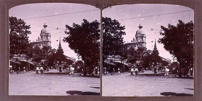 作品画像:蘭貢市街(No.170)