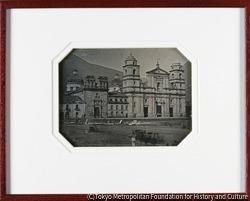 作品画像:ボゴタ寺院の眺め
