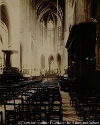 作品画像:サン・ジェルヴェ=サン・プロテ教会の内部、フランソワ=ミラン通り