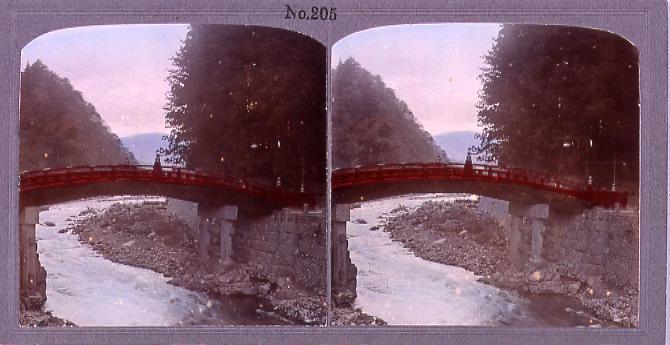 作品画像:日光神橋(No.205)