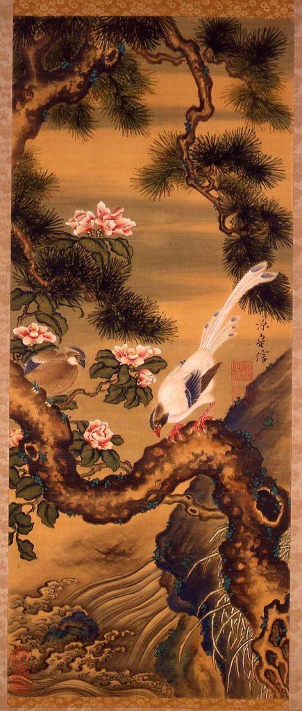 作品画像:花鳥図