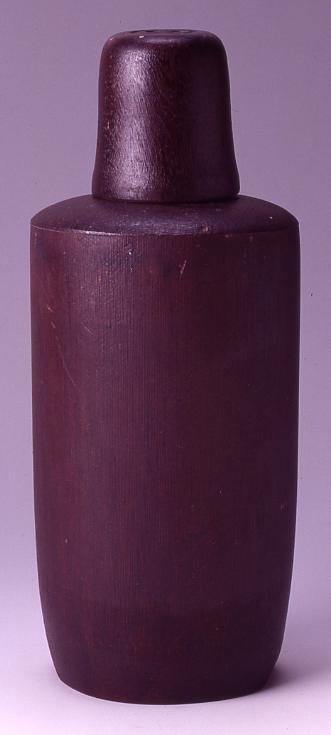 作品画像:木製水筒