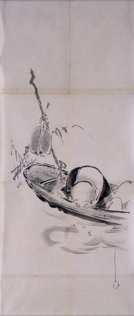 作品画像:粉本 舟上布袋