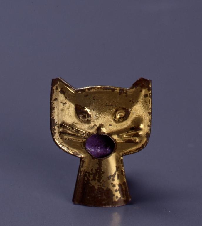 作品画像:玩具 ブリキ製猫笛
