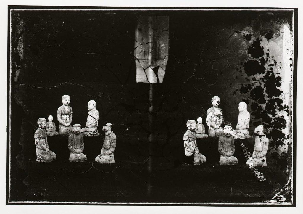 作品画像:法隆寺 五重塔内塑像