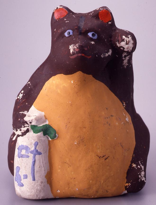 作品画像:今戸人形 とっくり狸