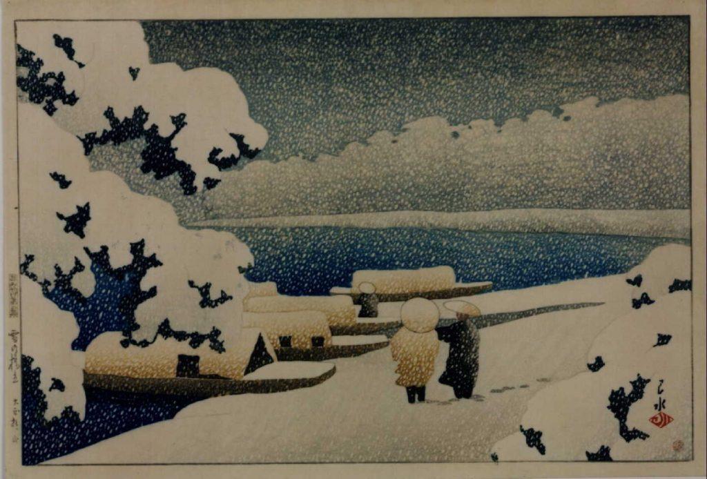 作品画像:旅みやげ第二集 雪の橋立