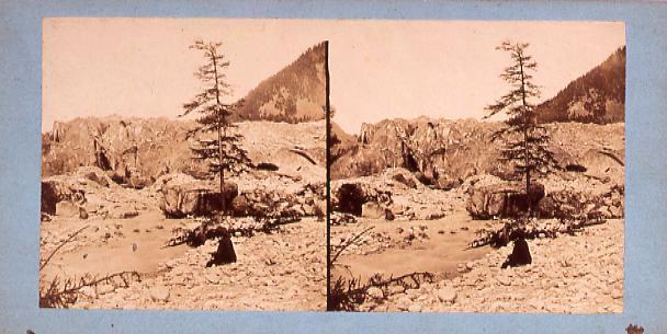 作品画像:外国製ステレオ写真 ヨーロッパ山岳風景[スイス]
