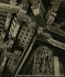 作品画像:(日本伝統建築の柱)