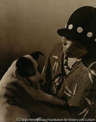 作品画像:(犬と女)