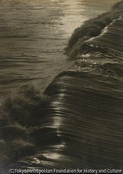 作品画像:夕べの波