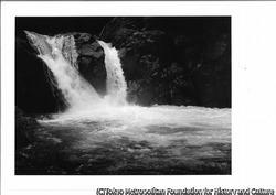 作品画像:柳又谷、魚止の滝