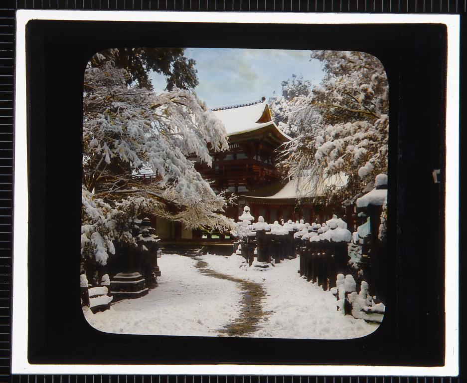 作品画像:奈良 春日大社(幻燈原板)