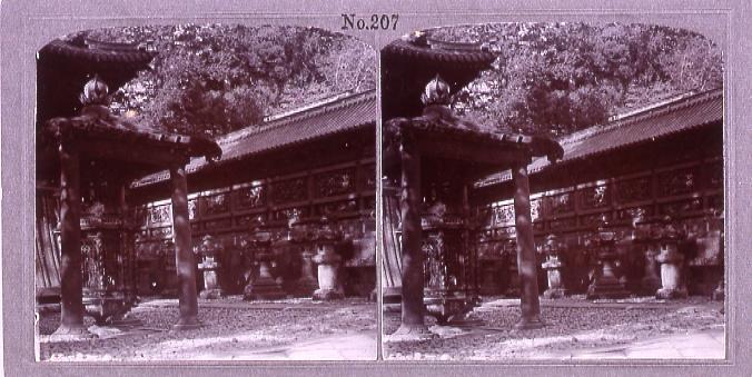 作品画像:日光東照宮釣燈篭(No.207)