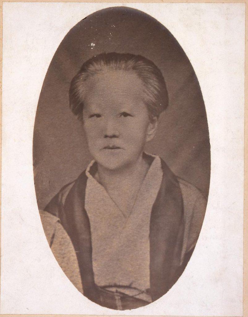 作品画像:川村たま肖像