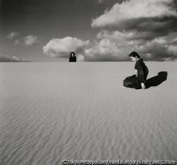 作品画像:妻のいる砂丘風景 (Ⅳ)