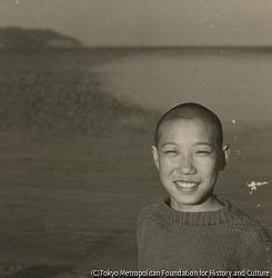 作品画像:海辺少年像