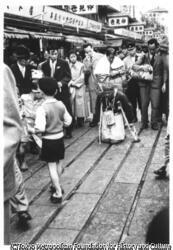 作品画像:仲見世昭和30年 、 浅草