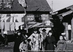 作品画像:戦災住宅のお正月