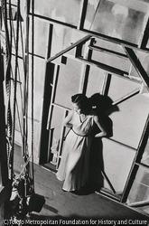 作品画像:東京浅草 花月劇場 舞台裏で出を待つ踊り子