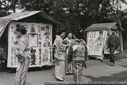 作品画像:東京浅草 浅草寺境内昼さがり