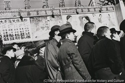 作品画像:東京浅草 ヤブ入りの日の六区興行街のにぎわい
