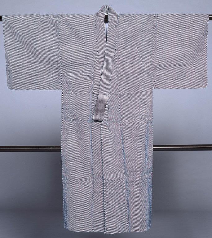 作品画像:長板中形浴衣 縞