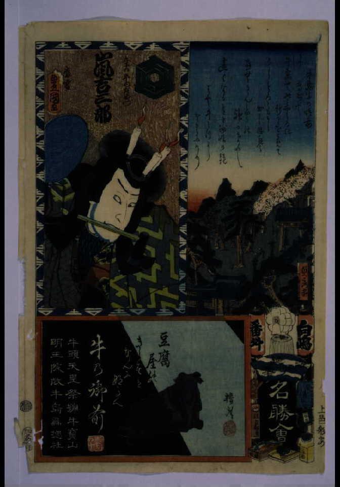作品画像:江戸の花名勝会 向嶋 番外