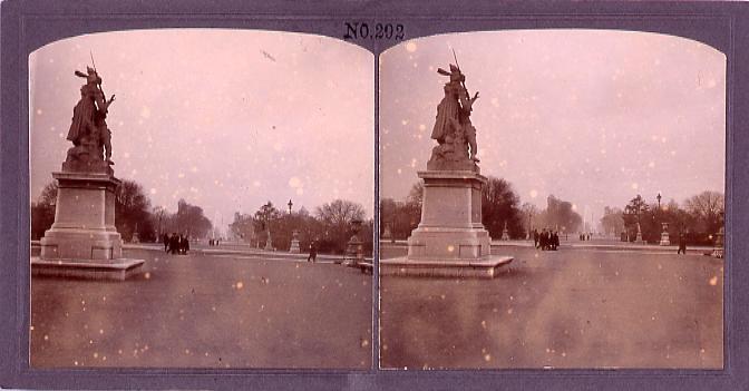 作品画像:パリ、チュイルリー公園(No.292)