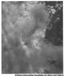 作品画像:空と飛行機