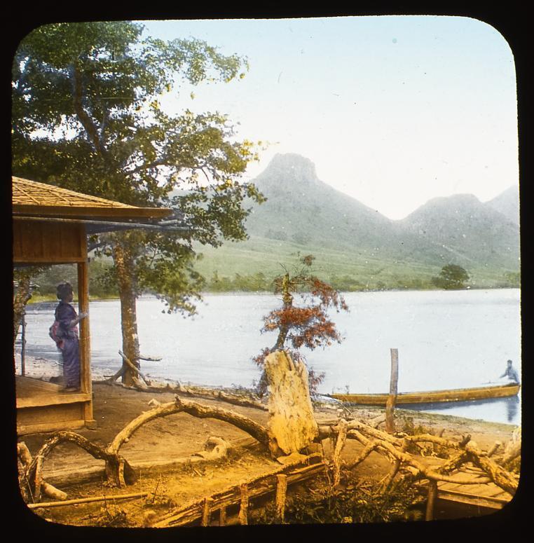 作品画像:水辺の女性