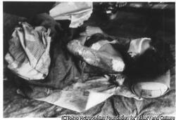 作品画像:熱傷をおった婦人(新興善特設救護病院)