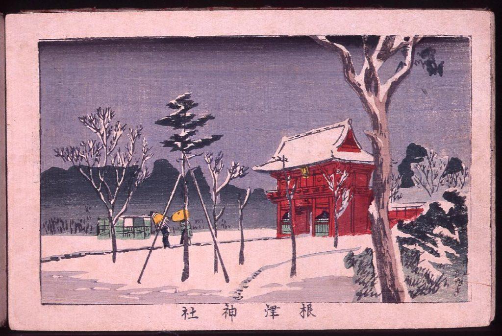 作品画像:根津神社