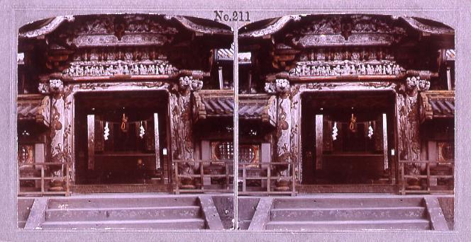 作品画像:日光東照宮内陣(No.211)
