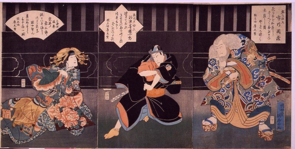 作品画像:助六所縁江戸桜