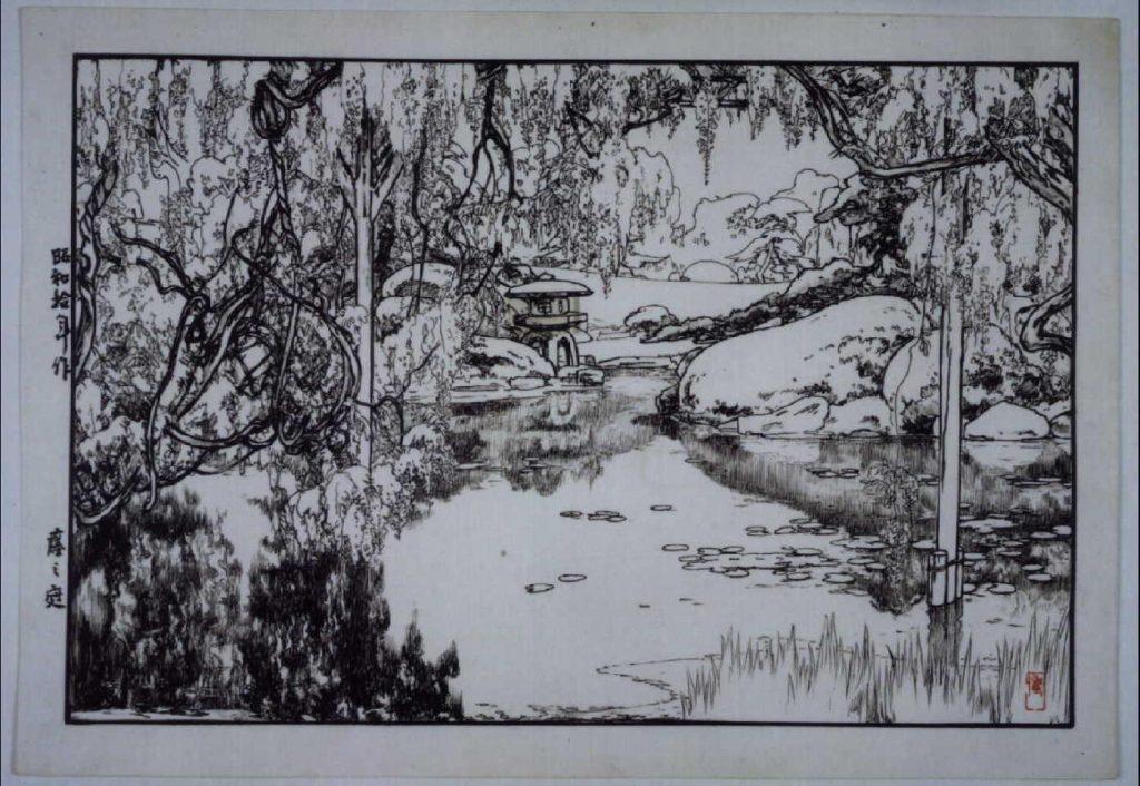 作品画像:藤之庭 原画