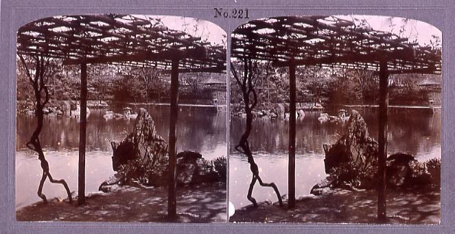 作品画像:蓬來園(東京市向柳原町松浦伯邸内)(No.221)