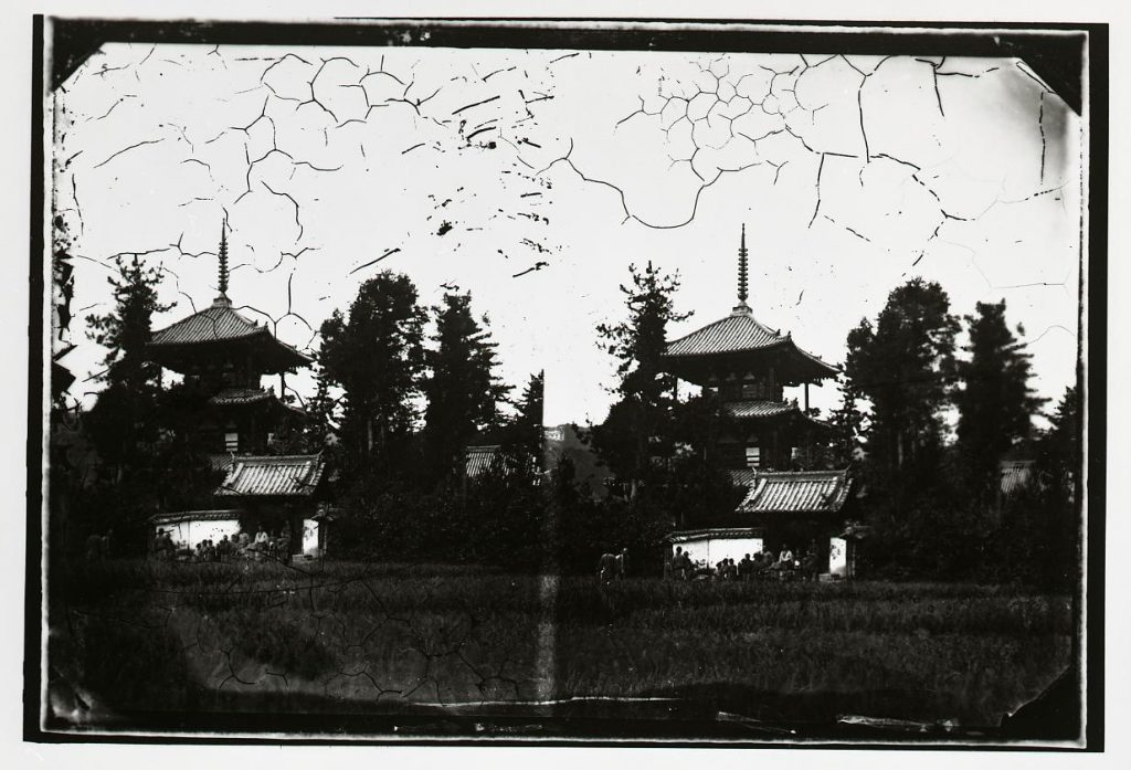 作品画像:法輪寺 三重塔