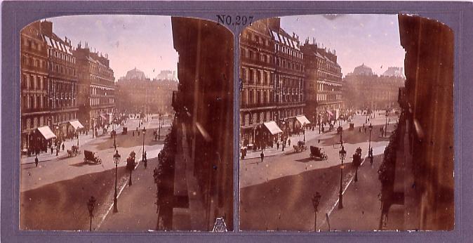 作品画像:パリ、オペラ街(No.297)