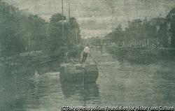 作品画像:運河の黄昏、ライデン