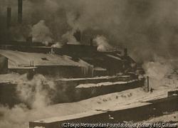 作品画像:蒸気霧と煙