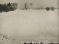 作品画像:低地帯、冬