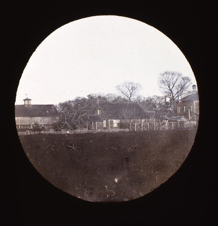 作品画像:名所 農学校付属農園